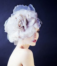 Wedding Headpiece Bridal Flower Hairpiece by FascinatingCreations