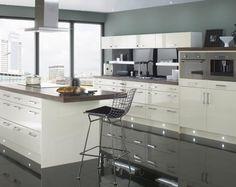 peinture cuisine en couleur gris quartz tendance