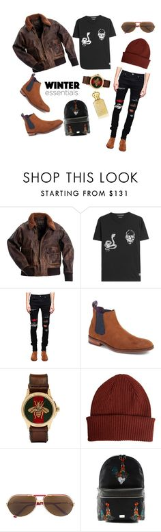 """men winter"" by faisal-susilo ❤ liked on Polyvore featuring Alexander McQueen, AMIRI, Ted Baker, Gucci, Paul Smith, Cartier, Dolce&Gabbana, Clive Christian, men's fashion and menswear"