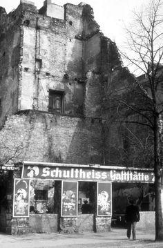 """In den 1970er bis Mitte der 80er Jahre besaß die """"Ruine"""" in Berlin(West) Kultstatus."""