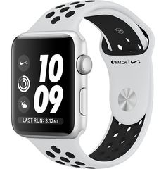 Apple watch for running and texting! Customize your Apple Watch: Choose from a range of bands and a or watch face. Get free delivery or in-store pick-up when you buy Apple Watch online. Apple Watch 38mm, Buy Apple Watch, Apple Watch Nike, Apple Watch Faces, Apple Watch Series 2, Apple Watch Silver, White Apple Watch Band, Design Apple Watch, Sport Watches