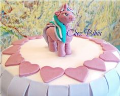 Torta my little pony in pasta di zucchero