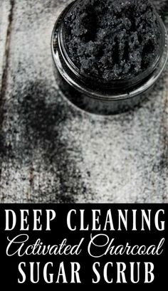 If you want amazing feeling skin, if you want to remove toxins, reduce acne, and have beautiful skin, then this deep cleaning activated charcoal scrub is the scrub for you! skin face skin no makeup skin requires commitment skin secrets skin tips Organic Skin Care, Natural Skin Care, Natural Beauty, Organic Beauty, Natural Face, Natural Makeup, Natural Sugar, Boho Lifestyle, Diy Cosmetic