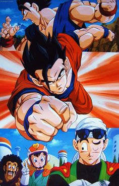 Collecting, posting, and preserving only the best possible quality scans of original Japanese promotional artwork for Dragon Ball, Dragon Ball Z, and Dragon Ball GT from 1986 - 1997 Dragon Ball Gt, Dragon Ball Z Shirt, Cry Anime, Manga Anime, Anime Art, Akira, Poses Anime, Manga Dragon, Manga Kawaii