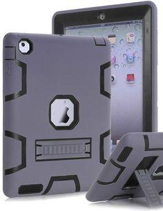 iPad 2 3 4 Case TOPSKY Kickstand Feature Shock-Absorption High Impact Resistant #Topsky