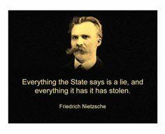 Friedrich Nietzsche - A madman can speak the truth. Frederick Nietzsche Quotes, Friedrich Nietzsche, Philosophical Quotes, Political Quotes, Political Ideology, Camus Quotes, Me Quotes, Epic Quotes, Wisdom Quotes