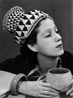 Madame de St. Exupery 1937/