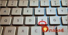 Každý má na klávesách F a J vystupujúcu čiarku. Málokto tuší, na čo slúži