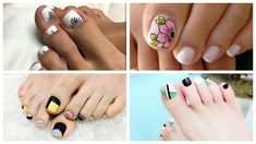 Decoración de uñas para pies Nails, Painting, Beauty, Handmade Flowers, Nailed It, Pedicures, How To Paint, Nail Manicure, French Nails