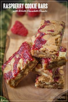 Raspberry Cookie Bars