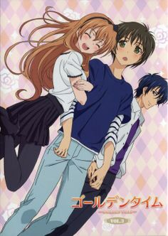 Golden time ❤️ one of the best anime ever i cried in like 5 episodes 😭 I Love Anime, All Anime, Me Me Me Anime, Manga Anime, Awesome Anime, Golden Time Anime, Supernatural Theme, Light Blue Eyes, Animes To Watch