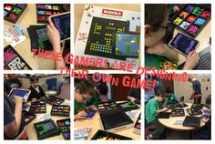 OHE Students Prepare To Teach Bloxels! This year I have been gathering maker tools for our school's makerspace.
