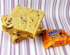 Peanut Butter-Peanut Butter Snickers Bars