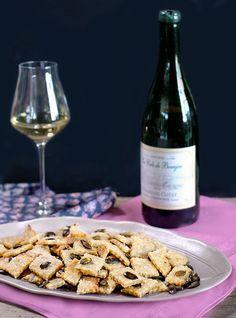 Crackers au thon, à l'huile de sésame et aux graines de courge - Et si c'était bon...