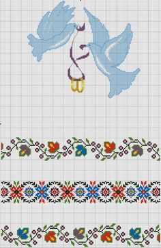 Palestinian Embroidery, Cross Stitch Borders, Stitch 2, Love And Marriage, Flower Designs, Embroidery Designs, Alphabet, Folk, Kids Rugs