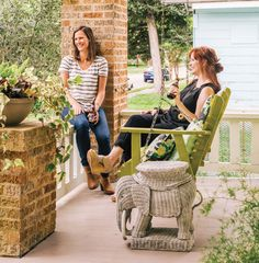 The Porch Enjoys a Revival Homeowners are rediscovering the iconic front porch, and all the benefits, social and otherwise, that come along with it.