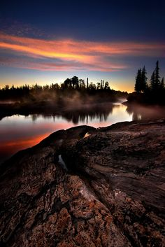 Kapuskasing River on a cool early fall morning Kapuskasing river 2 Wonderful Places, Beautiful Places, Amazing Places, God Is Amazing, Belleza Natural, Canada, Landscape Photos, Natural Wonders, Planet Earth