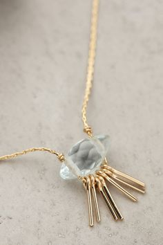 Vendula Fringe Necklace - anthropologie.com