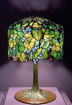 a beautiful glass lamp!
