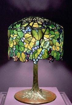 a beautiful glass lamp!
