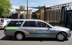 charity, vehicle branding, car graphics
