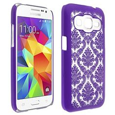 Microseven® Samsung Galaxy Core Prime Prevail Lte, G360 (Prevail 4G LTE / Prevail 2) Case, Diva Lace Damask Design Ultra Slim Translucent Rubber Coating Hard Back Cover Case + 1 Touch Screen Stylus with Microseven Packaging (Purple Lace) Microseven http://www.amazon.com/dp/B00ZEAAD30/ref=cm_sw_r_pi_dp_.8ihwb004FPWX