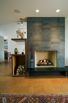 slate tile on fireplace touchdown tile llc a minnesota tile contractor family room pinterest more slate minnesota and bricks ideas