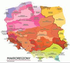Regionalizacja fizycznogeograficzna Polski