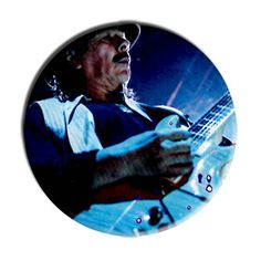 ONLY ONE Santana 2-1/4 Inch Button