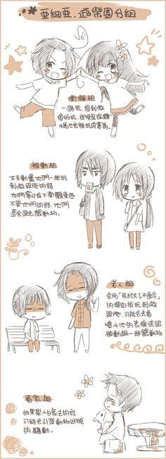 Tags: Anime, Axis Powers: Hetalia, Taiwan, Japan, Hong Kong