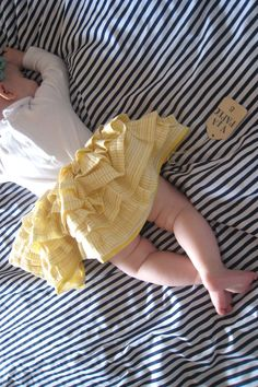 adorable baby skirt!