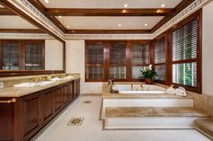 Jodie Foster's Hollywood Hills home for sale... nice bathroom
