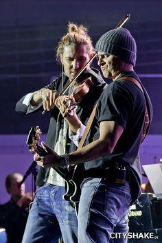 David Garrett & Marcus Wolf. Foto: Sabrina Andexer
