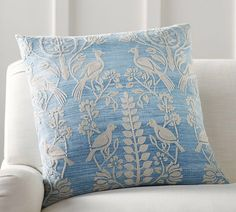 Robyn Embroidered Pillow Cover