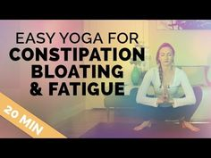 When you're fatigued, have a upset stomach, are on your period or just feel YUCK - this easy, simple 20-min class is for you. ♥ GET MY FREE VIDEO ON HOW TO S...