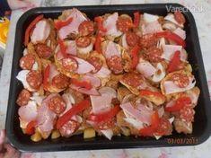 Živánska pochúťka Czech Recipes, Russian Recipes, Ethnic Recipes, Pork Tenderloin Recipes, Pork Recipes, Cooking Recipes, Food 52, Food Inspiration, Food And Drink