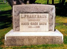 L. Frank Baum, an American author chiefly known for his children's books, particularly The Wonderful Wizard of Oz.