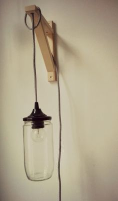 DIY: Fles lamp zelf maken - Great Little Kitchen #diy #lamp