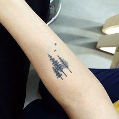 Deep and Super Cool Forest Tattoo Ideas (10)                                                                                                                                                                                 More