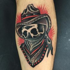 You are in the right place about unique tattoo Here we offer you the most beautiful pictures about the meaningful … Cowboy Tattoos, Western Tattoos, Biker Tattoos, Leg Tattoo Men, 1 Tattoo, Baby Tattoos, Head Tattoos, Skull Tattoos, Sleeve Tattoos