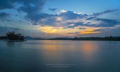 松山湖日落