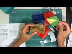 Clasificador de Origami de los sumakof Pasta Sanfonada para ATC - ATC Blizzard Book