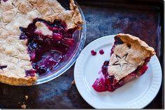 food, blueberri cranberri, pies, pears, blueberries, cranberri pear, wheat crust, crusts, pear pie