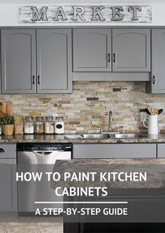 How to Paint Kitchen Cabinets- A Step-by-Step Guide 2... - http://centophobe.com/how-to-paint-kitchen-cabinets-a-step-by-step-guide-2/ -