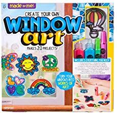 Made By Me Create Your Own Window Art by Horizon Group USA, Paint Your Own Suncatchers, Includes 12 Suncatchers & More, Assorted Colors in Craft Kits. Craft Kits, Craft Projects, Halloween Crafts, Christmas Crafts, Christmas Tree, Cadeau Parents, Plastic Pumpkins, Rainy Day Crafts, Booklet Design
