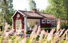 Sweden House, Liv, Cottage Homes, Farmhouse, Cabin, Architecture, House Styles, Decoration, Places