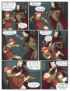 Nimona chapter 6 - page 28 | Gingerhaze
