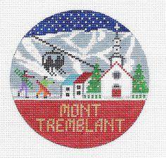 "Mont Tremblant Round 4"" 18 mesh"