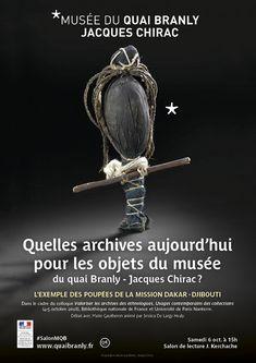 musée du quai Branly - Jacques Chirac - Production - musée du quai Branly - Jacques Chirac - Quelles archives aujourd'hui pour les objets du musée du quai Branly - Jacques Chirac ?