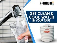 Not just clean water, get clean and cool water. Bring home the bliss of Penguin Tank! #PenguinTank